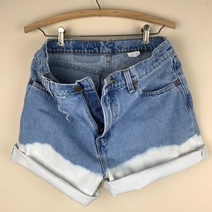 Levi's Shorts - Vintage Levi's 560 High Waisted Distressed Cutoffs